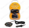 Разветвитель прикуривателя 2 гнезда + 2USB (ASP-2U-11) с витым шнуром, штекер-фиксатор Номинальное напряжение 12 В; Максимальный выходной ток 8А; Суммарная мощность потребителей 100Вт; Параметры USB 5В 500мА
