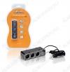 Разветвитель прикуривателя на 3 гнезда + USB (черный) (ASP-3U-07) Номинальное напряжение 12/24 В; Максимальный выходной ток 5А; Суммарная мощность потребителей 60Вт; Параметры USB 5В 500мА