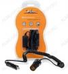 Удлинитель прикуривателя с витым шнуром 3 м (ASP-3L-06) Номинальное напряжение 12/24 В; Максимальный выходной ток 5А; Суммарная мощность потребителей 60Вт