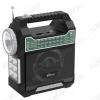 Радиоприемник RPR-444, LED фонарь УКВ 88,0-108.0МГц; разъем USB,SD; Питание от аккумулятора/сети 220В, USB-разъем для подзарядки мобильных устройств
