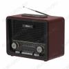 Радиоприемник RPR-088 BLACK УКВ 87,0-108.0МГц; разъем USB, SD; Питание от встр. аккумулятора, 4xR20/220В
