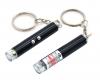 Фонарь-брелок SL-9618 1LED+лазер. крепление кольцо, питание 3*LR41