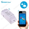 Wi-Fi реле Sonoff Dual 90-250В; 10А/15А; 2200Вт/3500Вт; размеры 114*52*23мм; EWeLink