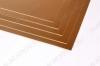 Стеклотекстолит фольгированный 400x500мм толщ.1.5мм двухсторонний