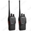 Радиостанция портативная  Baofeng BF-888S (комплект 2шт) цветная коробка Диапазон частот:400-470 МГц; Мощность передатчика до 5Вт, фонарик