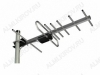Антенна L020.07DF (Меридиан-07F) пассивная ДМВ/DVB-T; 10dB; без кабеля; F-разъем
