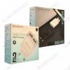Сетевое зарядное устройство с выходом 2*USB, 2.1A, золотое, BA9A FreePlug;