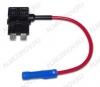 Разветвитель предохранителя T160 атомобильный сечение провода 0,5мм, Imax=15A