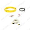 Набор для уст-ки автоусилителя PAC-T10 (2х канальный) Комплект силовых кабелей 10 GA(5,3мм2): 5м. желтый, 1м. черный, управл. кабель, 5м. синий  держатель пред. miniANL, пред. 40 А, клеммы, RCA кабель