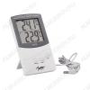 Термометр цифровой TA338 Снаружи помещений: -40°С~70°С/Внутри помещений: 0°С~50°С/Точность: 0.1°С/ Питания прибора 1.5В типа (ААА).
