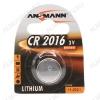 Элемент питания CR2016 3V;литиевые;блистер 1/10                                                                                            (цена за 1 эл. питания)