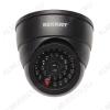 Муляж видеокамеры внутренний, купольный с вращающимся объективом, черный 45-0230