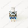 Энкодер а/м 5 pin с кнопкой (29) (R14) Вал 12 мм, металл, лыска