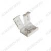 Разъем для LED ленты 8mm CN-3528-00 (2-х сторонний разъем) для 8мм одноцветных лент, защелки, без провода