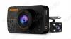 Видеорегистратор автомобильный D1 Full HD c 2-ой внешней камерой microSD - карта 4-32Gb; Li-ion аккумулятор; дисплей 2.2