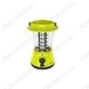 Фонарь AccuF5-L36-gn кемпинг аккумуляторный 36 LED; встроенный аккумулятор 4V 1.6Ah; питание от 220В; световой поток 180Лм; время работы до 16ч