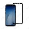 Защитное стекло Samsung A730F A8+ 2018 черное