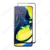 Защитное стекло Samsung A805 A80 черное
