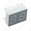 Индикатор DA56-11GWA LED 2DIG,0.56',G,AN;3M