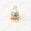 Энкодер а/м без кнопки 5 pin (32) (R1f) Вал 10 мм, металл, лыска