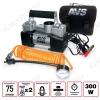 Автокомпрессор KS-750D двухпоршневой 12V,25A; давление 10атм; шнур 3.0м; производительность 75л/мин; унив.штекер+дополнит.насадки; время непр. раб-15мин.