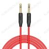 Шнур (UPA11) 3.5 шт стерео/3.5 шт стерео 1.0м красный