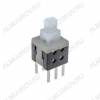 Кнопка PS-580N (без фикс.) 5.8x5.8x10.0mm; 0.1A/30VDC; 6pin