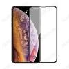 Защитное стекло Apple iPhone X/XS/11Pro, 6D, черное, Print Superman