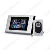 Метеостанция OT-HOM06 (цвет черно-серый) Измерение наружной и внутренней температуры, внутренней влажности, календарь, часы; питание 2хLR03(нет в комплекте), радиодатчика 2хR6(нет в комплекте