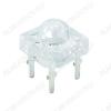 Светодиод LED PIRANHA З; 1K5 GNL-1860UGC Прозрачный; 75°; 20mA