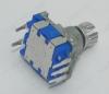 Энкодер а/м 5 pin с кнопкой (07) (R6c) Вал 12.5 мм, металл, накатка
