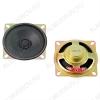 Динамик d=63mm; h=21mm; YD63-04; 8R; 0,5W/1W; 315-5000Hz уши, закрытый магнит 19mm; для ч/б TV, радио