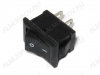 Сетевой выключатель RWB-101 черный 13,0*8,0mm; 3A/250V; 2 pin