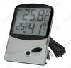 Термометр цифровой TM986H Измерение наружной и внутренней температуры, внутренней влажности, 2 больших дисплея, память MAX-MIN; (гарантия 6 месяцев)