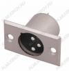 Разъем (157) XLR штекер на корпус метал.