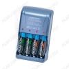 Зарядное устройство SP250-4 для 1-4шт NiCd,NiMh R6/AA; Vзар=1.4V 250mA