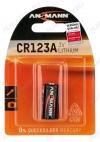 Элемент питания 123A 3V;литиевые;блистер 1/12/324                                                                                            (цена за 1 эл. питания)