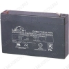 Аккумулятор 6V 7.0Ah DJW6-7 свинцово-кислотный; 151*34*94+6