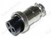 Разъем (407) MIC16-3pin гнездо на кабель