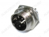 Разъем (414) MIC16-6pin штекер на кабель