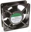 Вентилятор 220VAC 120*120*38mm DP200A2123XST.GN (алюминиевый корпус) 0,14A; 2700 об; 44dB; подшипник втулка