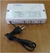 Усилитель DY-8020 телевизионный квартирный 1-69канал; 0-20dB регулируемый; питание 220V