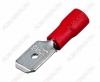 Клемма ножевая (№17) 6.4x0.8 штекер VM1.25-250 изолированная сечение 0.5-1.5 мм2; красная