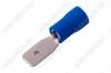 Клемма ножевая (№10) 4.8x0.8 штекер VM2-187(8) изолированная сечение 1.5-2.5 мм2; синяя