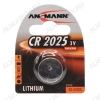 Элемент питания CR2025 3V;литиевые;блистер 1/5/100                                                                                            (цена за 1 эл. питания)