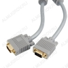 Шнур (5-963 10.0) VGA 15pin шт/VGA 15pin шт 10.0м Plastic-Gold
