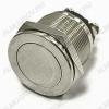 Кнопка антивандал. PBS-28B-2 off-(on) (метал. без фикс.) 2A 250VAC; 4A 125VAC; D=19mm