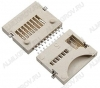 Разъем (601) MicroSD SMD 10pin switch P Для карт памяти MicroSD