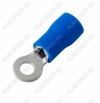 Клемма кольцевая (№21) d=3.2мм VR2-3 изолированная сечение 1.5-2.5 мм2; синяя