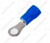 Клемма кольцевая (№23) d=4.3мм VR2-4 изолированная сечение 1.5-2.5 мм2; синяя